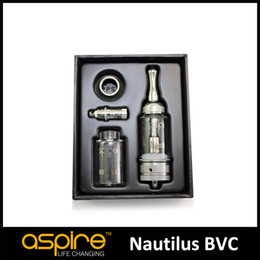 original aspire kit NZ - New Arrival New 5Ml Aspire Nautilus Tank Kit With Pyrex Replacement Tank 100% Original Aspire Nautilus Tank E Cigarettes Atomizer