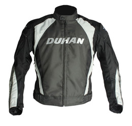 $enCountryForm.capitalKeyWord NZ - DUHAN Men's Motorcycle Windproof Riding Jaqueta Men's Motocross Off-Road Racing Sports Jacket Clothing with Protector Guards