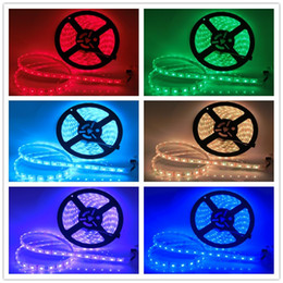 Use Pool Canada - IP68 Waterproof 5M RGB 5050 LED Strip 12V 60LED M Use Underwater for Swimming Pool Fish Tank Bathroom Outdoor With 24keys Remote Contorller