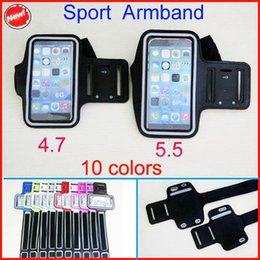 $enCountryForm.capitalKeyWord Canada - free DHL Sports Arm Band For iphone 6 plus WaterProof Gym Running Armband Soft Pouch Case 4.7 5.5 inch for iphone6 5 5C 5S Galaxy S3 S4 S5