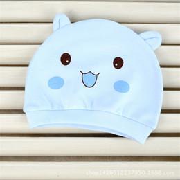 $enCountryForm.capitalKeyWord NZ - Adorable Little Baby Infant Soft Hat Newborn Baby Infant Girl Toddler Comfy Bowknot Hospital Cap Beanie Hat