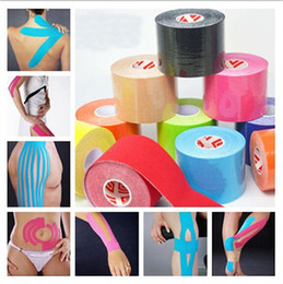 $enCountryForm.capitalKeyWord NZ - Retail 5cm *5m Kinesiology Kinesio Roll Cotton Elastic Adhesive Muscle Sports kinesiology Tape Bandage Physio Strain Injury Support Kneepad