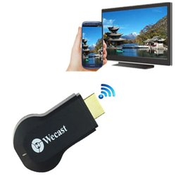 Wholesale Beautiful Gift Brand New for Wecast C2 OTA Miracast DLNA WiFi Display Receiver Dongle HDMI P Dec14