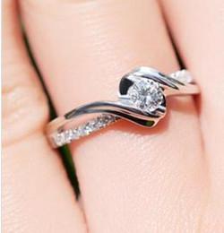 $enCountryForm.capitalKeyWord Australia - 3mm Charles&Colvard Brand Moissanite Test Positive Lab Grown Diamond Engagement Ring For Women