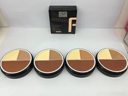 Venta al por mayor de Menow 3 colores base de crema corrector sin defectos 4 estilos MENOW M.N. Cara de maquillaje Meinuo 96PCS DHL