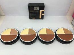 Vente en gros Menow 3 couleurs fond de teint crème correcteur impeccable 4 styles MENOW M.N. Meinuo visage de maquillage 96PCS DHL
