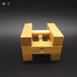 teaching aids for year UK - Square Luban Lock Toy Wooden Games For Adult Puzzles Toy Children Aged Care Brain Games Christmas Gift Teaching Aids Educational Toy
