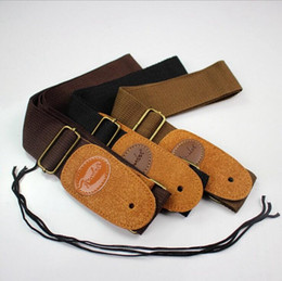 Chinese  Classic Electric Guitar Strap Electric Bass Strap Folk Guitar Straps 1.3m 3 colours Mix order Free Shipping manufacturers