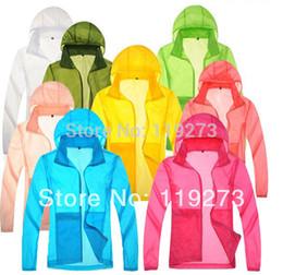 Güz-Yeni Yağmur ceket Erkekler Kadınlar Ultra hafif Açık Balıkçılık Spor Ceket Hızlı kuru Avcılık Erkek Fenale kamp Yürüyüş ceket artı boyutu indirimde