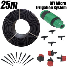Hose Systems Canada - Garden Drip Irrigation System 25m DIY Micro Watering Kits Agriculture Sprinkler Water Hose Kit Automatic Dripper Plant Irrigator
