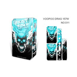 $enCountryForm.capitalKeyWord UK - VOOPOO DRAG 157W Skin Wraps Sticker Cases Cover for DRAG 157 Watt TC Box Mod Vape Protective Film Stickers With Fashion 14 Pattern