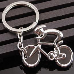 $enCountryForm.capitalKeyWord Canada - metal man Road bicycle figure keychain keyring trinket souvenirs creative for bike Bicycle Cycling Riding Keyfob Key Chain Ring lover biker