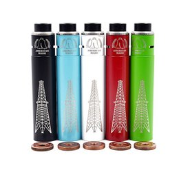 $enCountryForm.capitalKeyWord NZ - Newest Rig Starter Kit Comes with Rig Mod Roughneck RDA Atomizer DIY Ecigarette 5 Colors Fit 18650 Battery Magnets Button Vape
