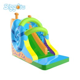 inflatable slides for sale UK - Factory Price Commercial Use Hot Selling Snail China Inflatable Jeux Gonflables Water Pool Slide For Sale