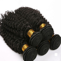 sew human hair NZ - 8A Sexy Malaysian Human Hair Weaves,hot selling Women's fashion Unprocessed Malaysian Hair Sew-in Extensions Kinky Curly Bundle Hair Wefts