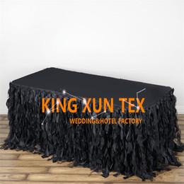 $enCountryForm.capitalKeyWord Canada - Cheap Price Taffeta Table Skirt \ Table Cloth Skirting For Wedding And Event Decoration Free Door Shipping