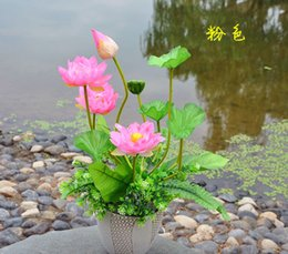 Shop simulation flower artificial silk lotus uk simulation flower factory outlets the beam lotus flower factory simulation artificial flowers silk wedding housewarming opening with flowers mightylinksfo