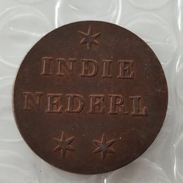 factory arts Australia - Netherlands East Indians 1836 1Duit 100% Copper Copy Coin- High Quality Promotion Cheap Factory Price nice home Accessories Coin