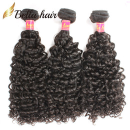 Queens curly weave online shopping - Malaysian Curly Hair Virgin Hair Queen Hair Products Human HairExtensions Natural Color Hair Weaves Bella Hair DHL