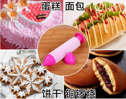 $enCountryForm.capitalKeyWord Canada - Cake decorating cutter tools Biscuit Cookie Pastry Icing Decoration Syringe Chocolate Plate Pen Tool New 020084