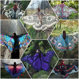 $enCountryForm.capitalKeyWord Canada - Printed Beach Scarf Wrapped Skirt Peacock Shawl Butterfly Printing Cape Digital Seal Butterfly Print Shawl Towel In Europe And America WL19