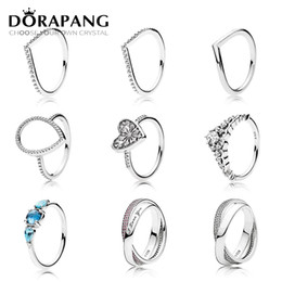 58694bd57 Side tiaraS online shopping - DORAPANG Sterling Silver Heart Of Winter Ring  Clear CZ Fairytale Tiara
