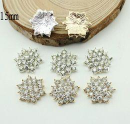 5%off (50pcs lot)Star Metal rhinestone buttons wedding invitation card  embellishment hair flower scrapbook sewing accessories ade6fdeed121