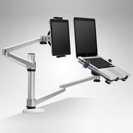 $enCountryForm.capitalKeyWord Canada - Laptop 360 Portable Stand Laptop standing Table Aluminum Alloy Stand for Laptop Foldable Lapdesks Tablet Stand Lapdesks Laptop Stand Hout