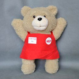 online shopping EMS Cute Teddy Ted Bear Plush Doll Stuffed Soft Fashion Toy quot Good For Gift