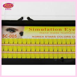 $enCountryForm.capitalKeyWord Canada - 3 flares Makeup Eyelash 0.10mm C Curl 8 10 12mm natural false eyelashes Long Fake eye lashes Individual Eyelashes Extension