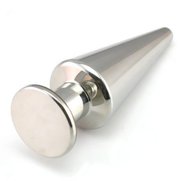 $enCountryForm.capitalKeyWord NZ - 39*110mm 500g Solid Metal Cone Anal Plug Stainless Steel Butt Plug Adult Sex Toys for Women & Men 044