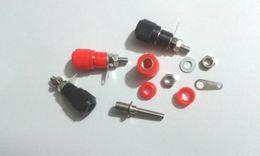 Terminal binding posTs online shopping - 100pcs high quality Speaker Terminal Binding Post for mm Banana plug connector