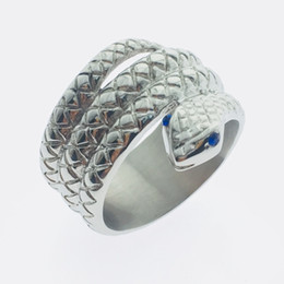 Metal Chastity Device NZ - 2017 New Private Design Penis Ring Glans Ring Snake head style Metal Male chastity device Male Cock Ring