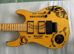 Chinese  Yellow Guitar KH-2 OUIJA Signature electric guitar China guitar manufacturers