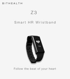 new bluetooth wrist smart bracelet watch 2019 - New Smart Wristband Z3 Bracelet Bluetooth OLED Screen Touch Key Fitness Tracker Health Sleep Monitor Smart Watch Sports