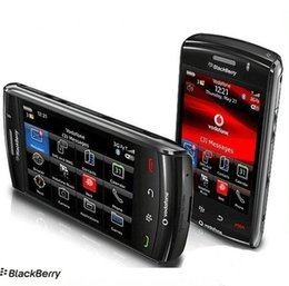 "Discount refurbished phones - Blackberry 9550 Storm 2 Original mobile phone 2G Memory 3.15 MP camera 4.3"" capacitive screen"