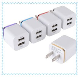 $enCountryForm.capitalKeyWord Canada - Universal 2.1A US Dual USB AC Power Adapter Wall Charger Plug 2 port for IPAD mini air Ipod iphone 4 4s 5 5s 5v MQ200