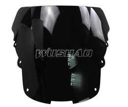 $enCountryForm.capitalKeyWord UK - Motorcycle Double Bubble Windshield WindScreen For 1996-2007 Honda CBR1100XX CBR 1100 XX 96 97 98 99 04 05 06 07 2002 2003 Black