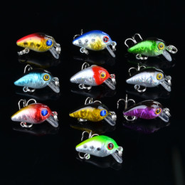 $enCountryForm.capitalKeyWord Canada - Mini Crank baits 10# Treble Hooks Bass Catfish CrankBaits 2.6cm 1.6g Small freshwater lure Fishing Tackle