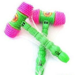 Ingrosso suono di plastica libero di 25CM di un martello piccolo anello, giocattoli sani, giocattolo del bambino, giocattoli del partito