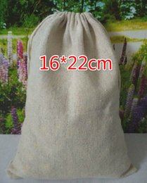 Discount large easter gift bags 2018 large easter gift bags on free ship 50pcs 1622cm large linen bag sack jewelry bags wedding party candy beads christmas retro gift bag affordable large easter gift bags negle Image collections