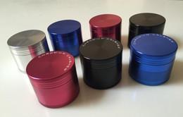 $enCountryForm.capitalKeyWord NZ - CHROMIUM Crusher dia 47mm Grinders aluminium Alloy Tobacco herbal Grinder 4 Layer Cigar herb Spice Crusher Machine Magnet Strainer Inside