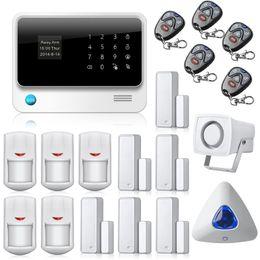 $enCountryForm.capitalKeyWord Canada - G90B Home security GSM WIFI alarm system with GPRS, Touch keypad LCD display voice promt,IOS Android APP Burglar Alarm System