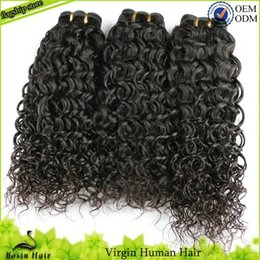 Curly Human Hair For Weaves Canada - Afro Curly Weaves For Black Women Unprocessed Virgin Human Hair Extensions Grade 7A 3PCS Hair Bundles Brazilian Kinky Curly Virgin Hair
