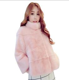 $enCountryForm.capitalKeyWord Australia - Most Popular Women's clothing 2018 New Warm Winter Coats Fashion Faux Fur Coat Short Long Sleeve Women Jacket Coat Imitation Fur Women Coats