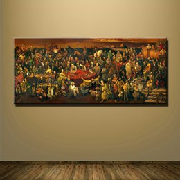 $enCountryForm.capitalKeyWord Canada - 1 Panel World Celebrity Pictures Classic Artwork Painting Discussing Divine Comedy Dante Art Poster Home Decor No Framed