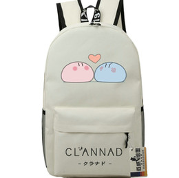 nice girl school bags NZ - Roll backpack Clannad nice day pack Okazaki Tomoya cartoon school bag Anime packsack Quality rucksack Sport schoolbag Outdoor daypack