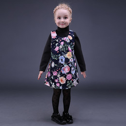 Fancy dress style online shopping - Pettigirl Retail Spring Printed Girls Dress Sleeveless Girls Floral Dresses Fancy Cute Kids Boutique Clothing GD80928