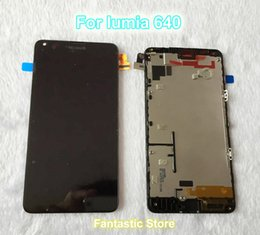 $enCountryForm.capitalKeyWord Canada - Wholesale-LCD display screen with touch screen digitizer with frame assembly full set for Nokia Microsoft Lumia 640 ,100% Original new