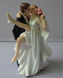 resin supplies Canada - Wedding Cake Topper Wedding Supply Resin bride and groom couple Figurines Wedding Events Decorations 20pcs Wholesale